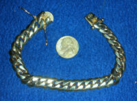 A 2.8 oz. (79.4 gr.) bracelet in 14k.