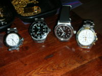A Few Watches: Cartier, Tag Heuer, Oris, & Certina (Audemars Piguet)