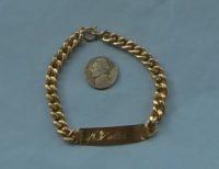 A 20 gram 18 k bracelet